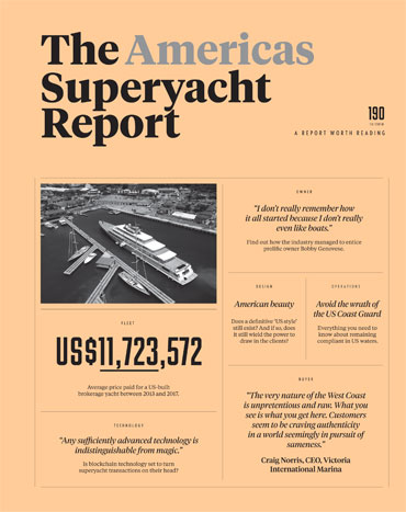 The Superyacht Report OCTOBER 2018