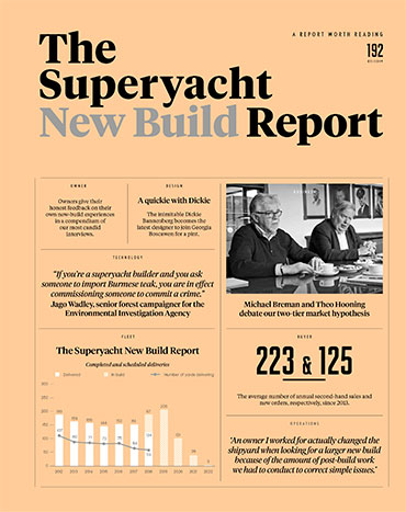 The Superyacht Report front cover