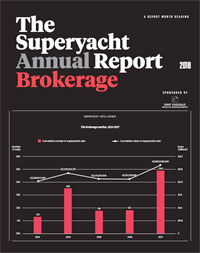 The Superyacht Annual Report: Brokerage 2018