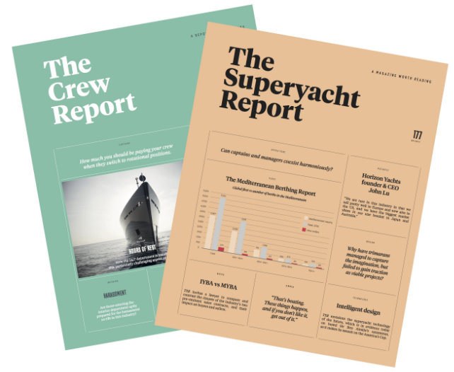 The Crew Report and The Superyacht Report front covers